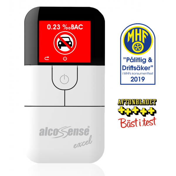AlcoSense Excel Fuel Cell Breathalyzer