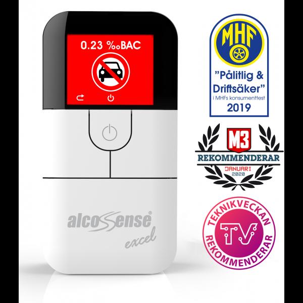 AlcoSense Excel Fuel Cell Breathalyzer